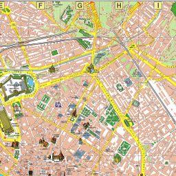 Carte Touristique De Florence